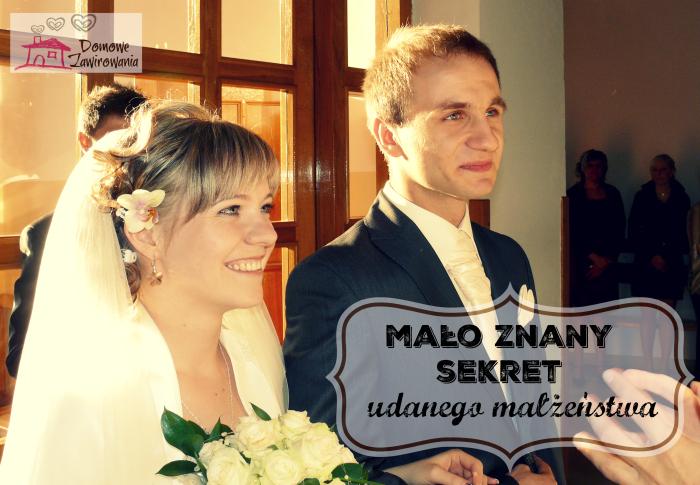 sekret udanego małżeństwa