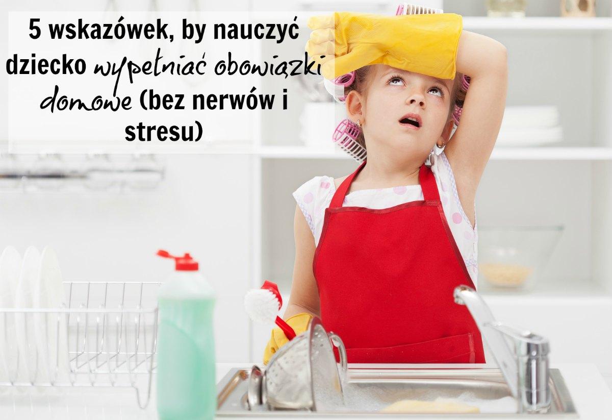 obowiązki dziecka w domu