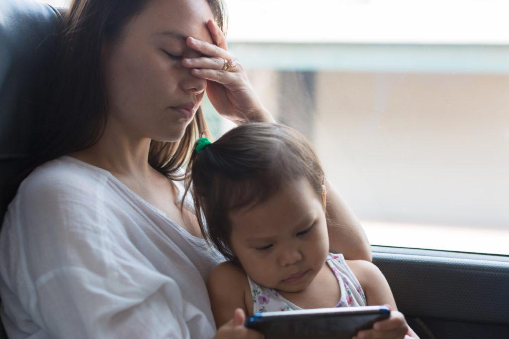 wyrzuty sumienia u matki