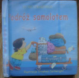 ciekawe książki dla dzieci - podróż samolotem