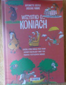 ciekawe książki dla dzieci - wszystko o koniach